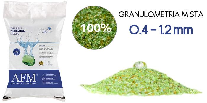 Vetro filtrante AFM® Mini Bag 100% bio-resistente