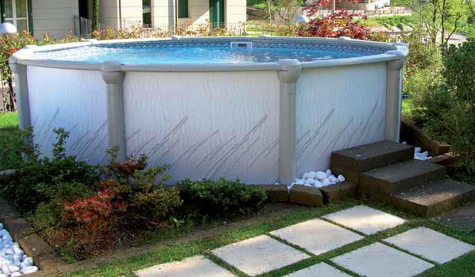 Piscina fuori terra vogue atrium 549 for Liner piscine vogue
