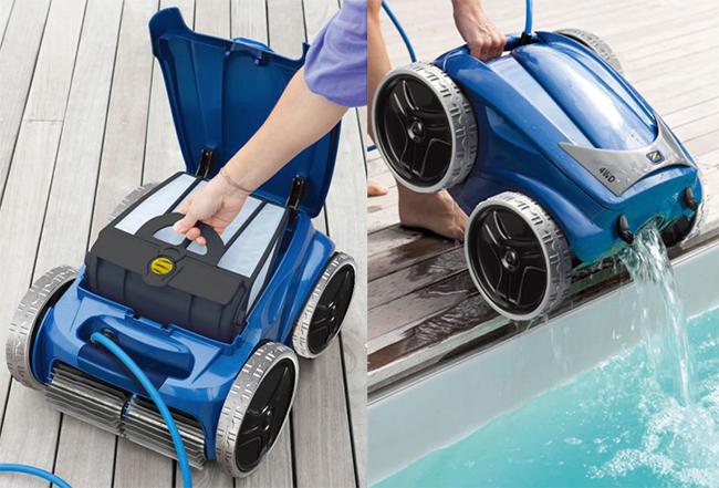 Robot piscina vortex 4 4wd