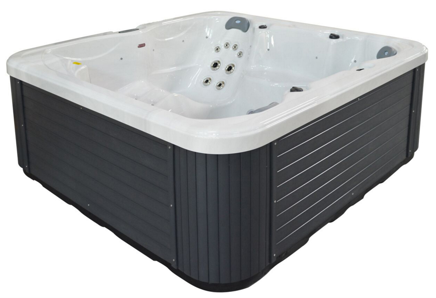 Vasca idromassaggio wellspring 401 212x212x82 cm idro spa da esterno wlsp401 ebay - Vasca idro da esterno ...