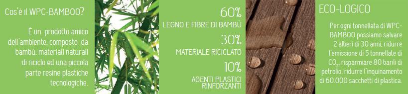 WPC bamboo ecologico