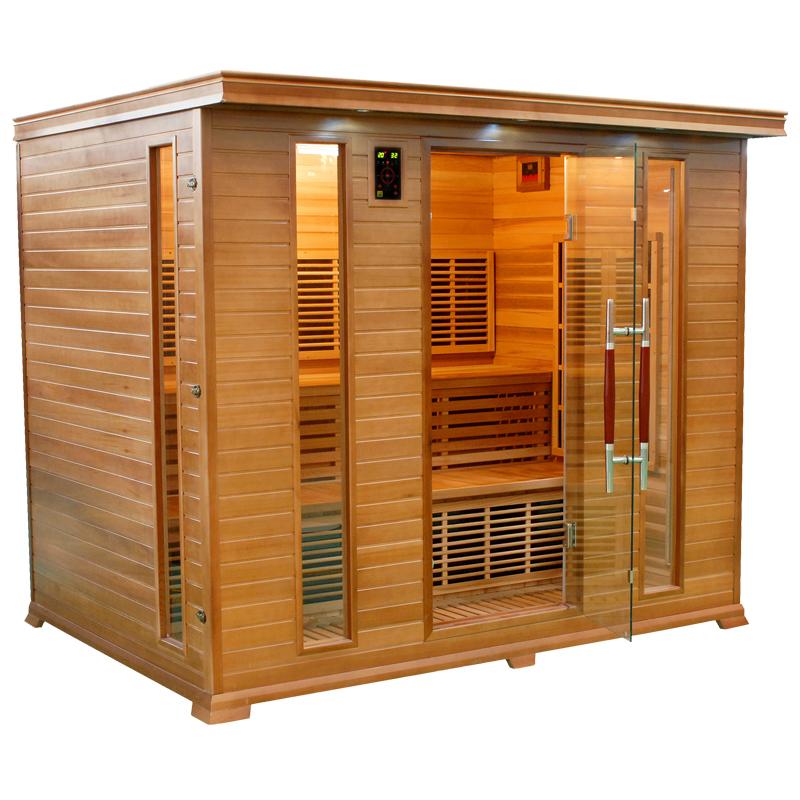 Sauna a raggi infrarossi Athena 5 posti  BSVillage.com