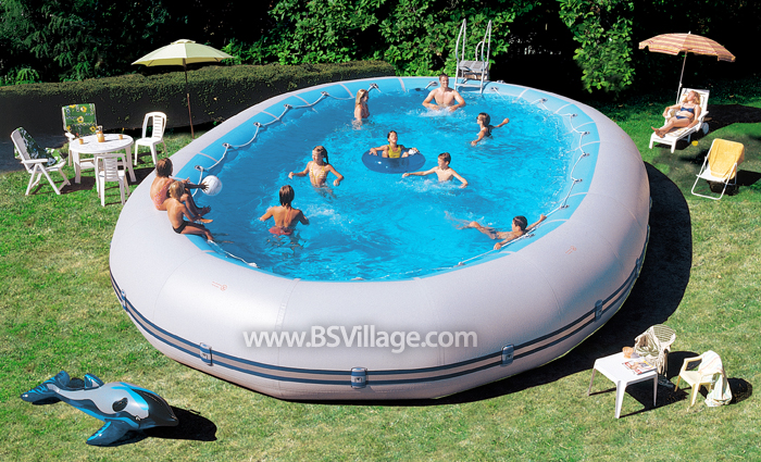 Piscina fuori terra in gommone zodiac ovline 4000 730x1120 for Attrezzi piscina