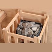 Stufa a pietre laviche Harvia