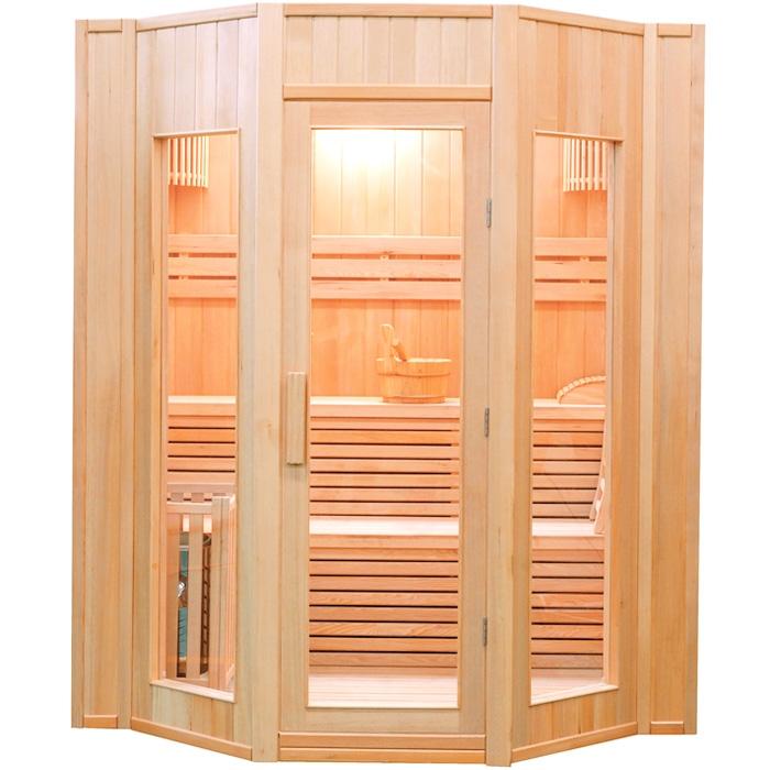 Sauna finlandese tradizionale