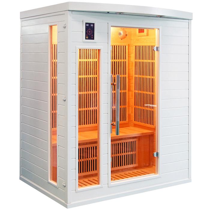 Sauna infrarossi da interno bianca