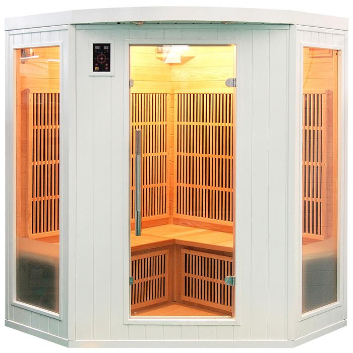 Sauna infrarossi bianco