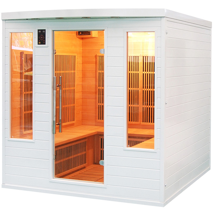 Sauna a raggi infrarossi Snow Club 4 - 5 posti  BSVillage.com