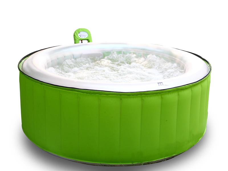 Vasca spa idromassaggio gonfiabile tropical - Piscina spa gonfiabile ...