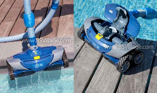 Pulitore idraulico automatico per piscina baracuda mx 8 by - Piscina fuori terra in pendenza ...