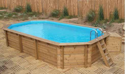 Vendita piscine fuori terra in legno naturalwood - Piscine fuori terra rivestite in legno ...