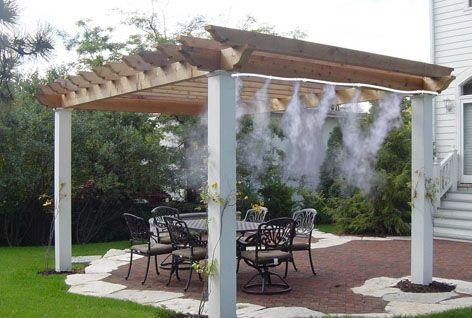 Nebulizzazione acqua giardino