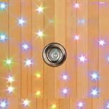 Sauna con cromoterapia starlight cielio stellato