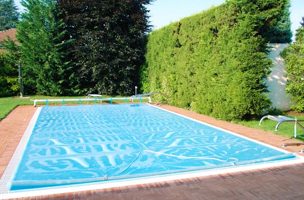 copertura isotermica per piscina a bolle
