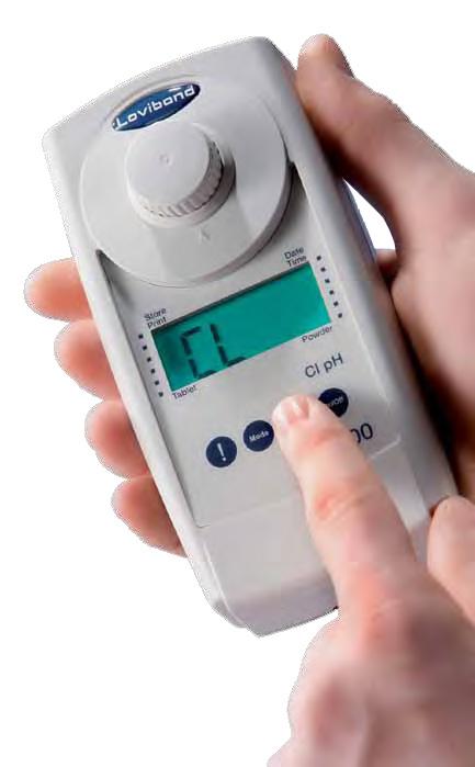 Fotometro MD 100 3 in 1 per misura cloro, pH e acido cianurico.