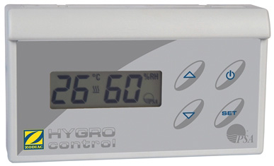 Scatola di comando Hygro Control