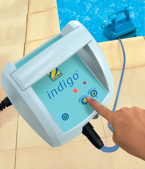 Robot piscina zodiac indigo for Robot piscine zodiac indigo