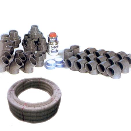 Kit raccordi e tubazioni per collegamento impianto piscina