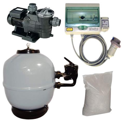 Kit Filtrazione 1 RIVALTA FS-500 - 12 mc/h Monofase
