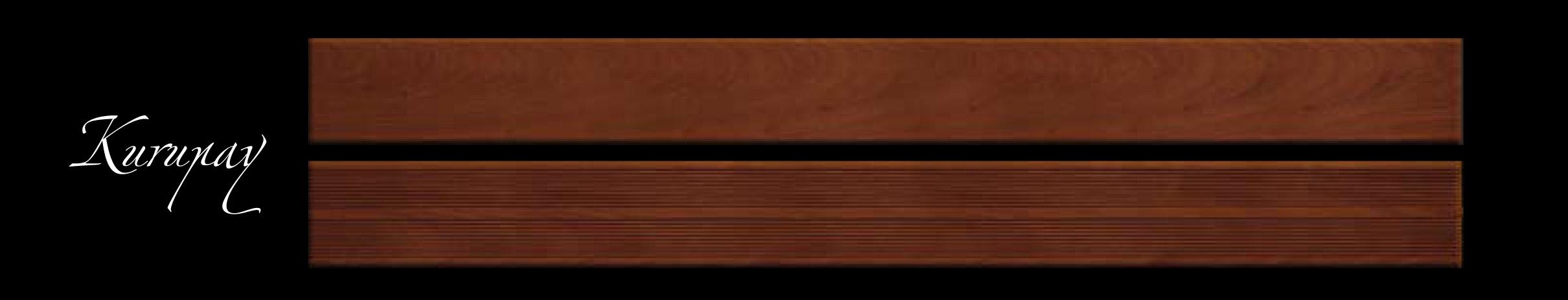 Pavimentazione Decking per esterni in legno KURUPAY, 100x1000/2000x19 mm, vendita al Mq ...