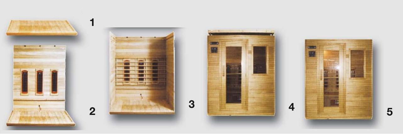 Vendita Sauna Tradizionale Finlandese Angolare con Acessori  BSVillage.com