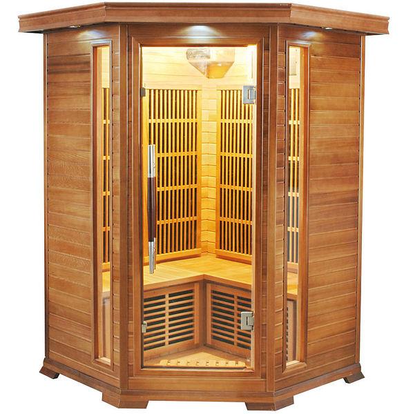 Sauna a raggi infrarossi Athena 2 - 3 posti
