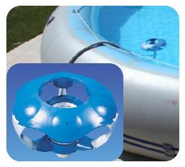 skimmer galleggiante e flottante