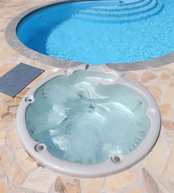 Vasca spa idromassaggio ad incasso diamante per for Vasca tartarughe da esterno