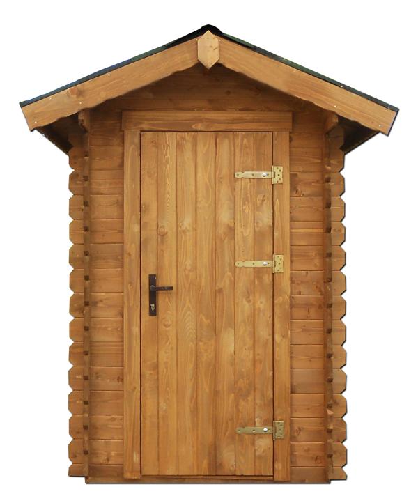 Cabina spogliatoio in legno per piscina mod ospiti - Cabine in legno ...
