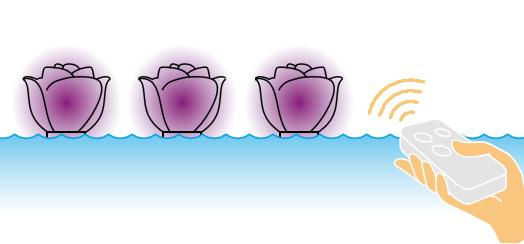 Lampada galleggiante BABY LOVE by Myyour