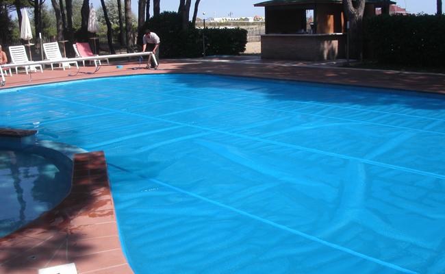 Copertura piscina isotermica estiva Strong Bubble