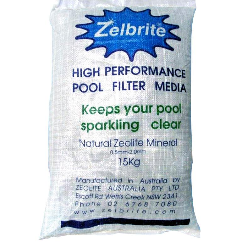 Zelbrite zeolite filtrante per piscina