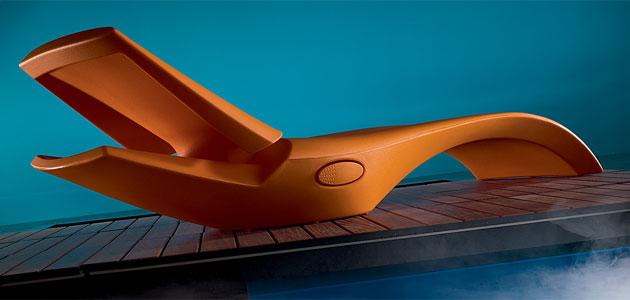 Lettino prendisole piscina ZOE by Myyour