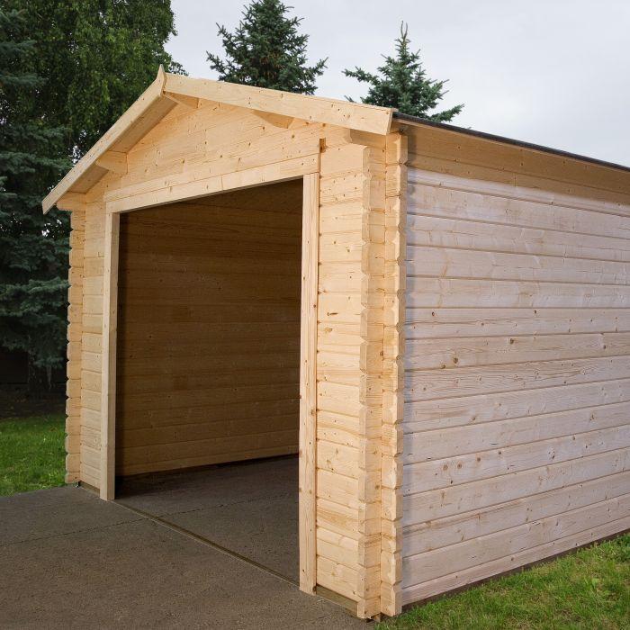Garage Box Auto In Legno Da Esterno In Due Dimensioni Bsvillage Com