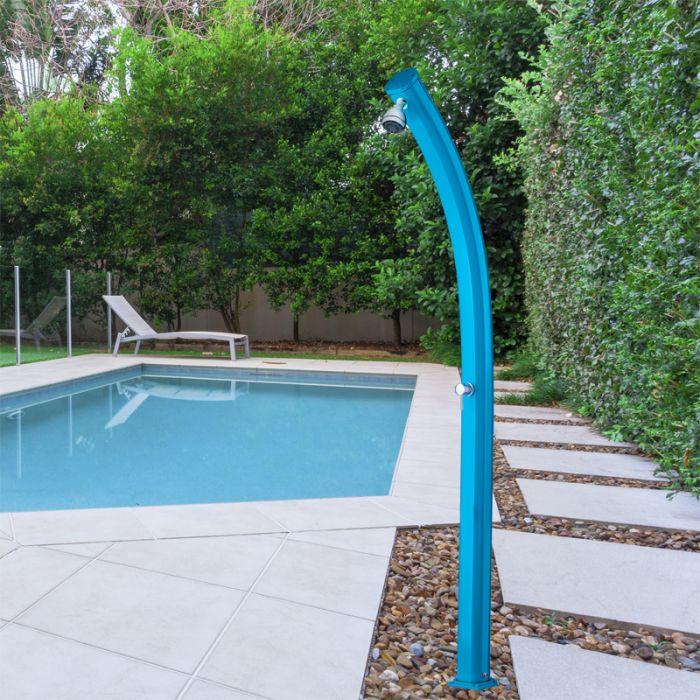 Doccia solare per piscina jolly 25 litri con miscelatore - Doccia solare per piscina ...
