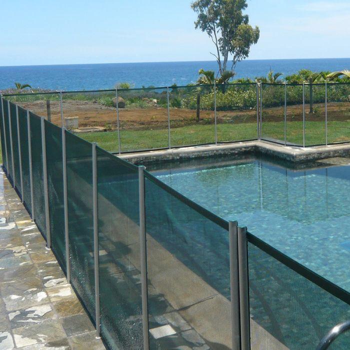 Recinzione di sicurezza in piscina beethoven morbida colori premium - Recinzioni per piscine ...