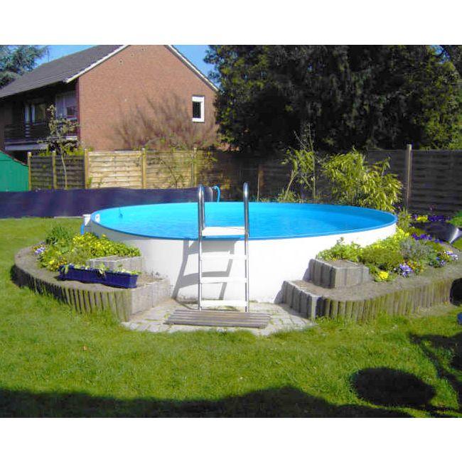 Piscina fuori terra clio 500 5 00 h1 35 m - Rivestire piscina fuori terra fai da te ...