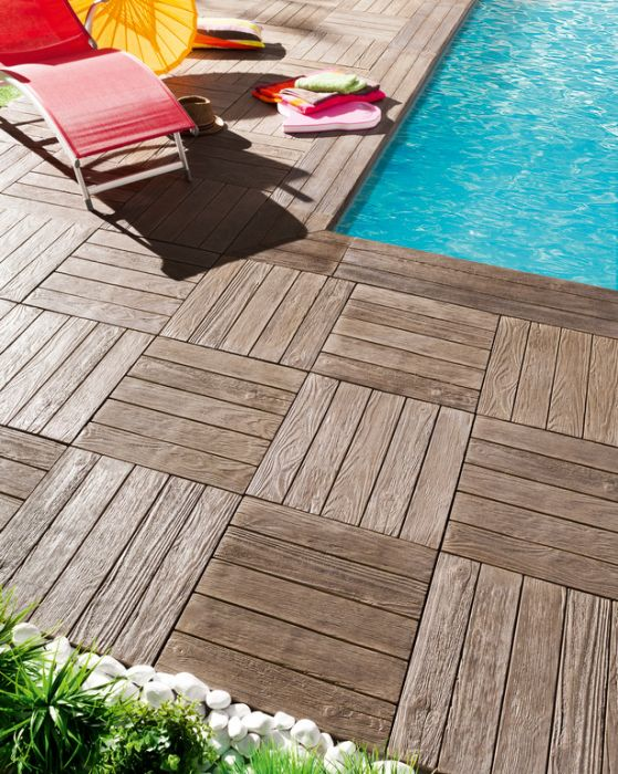 Bordo per piscina con effetto legno tennesse pierra for Bordo piscina legno