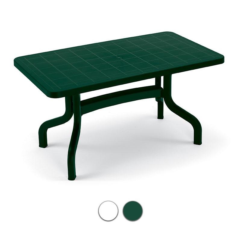 Tavoli Da Giardino Pieghevoli In Plastica.Tavolo Da Giardino Ribalto 140 X 80 Contract In Resina By Scab