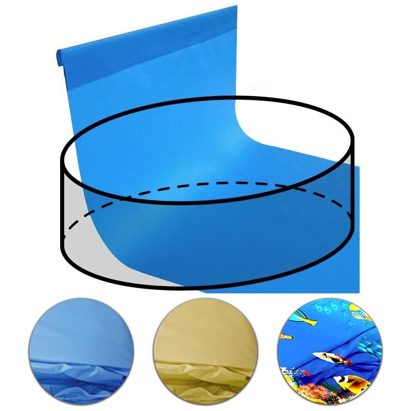 Telo rivestimento liner per piscina circolare 4 00 m - Liner per piscine ...