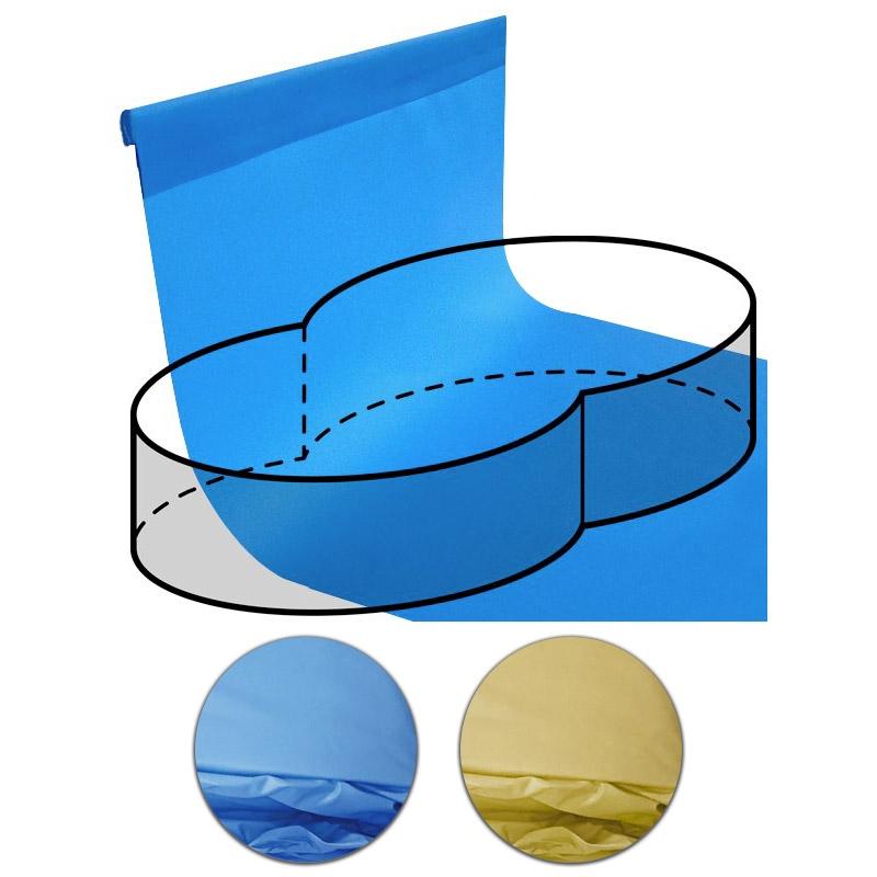 Telo rivestimento liner per piscina a forma di otto 6 25 x for Teli per piscine