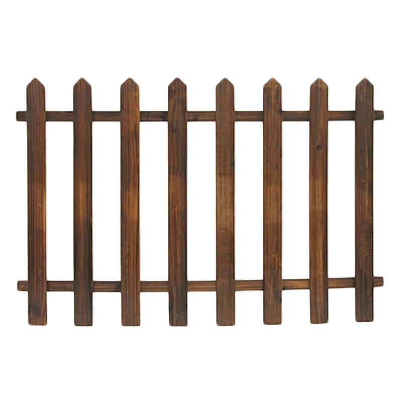 Steccato in legno 120 x 82 cm - Recinzioni da giardino in legno ...