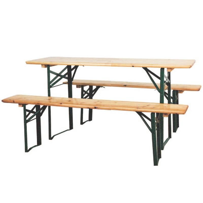 tavolo con panche pieghevoli subito
