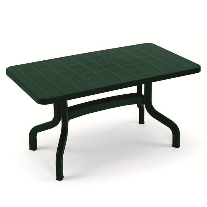 Tavoli Di Plastica Per Esterno.Tavolo Da Giardino Ribalto 140 X 80 Contract In Resina By Scab