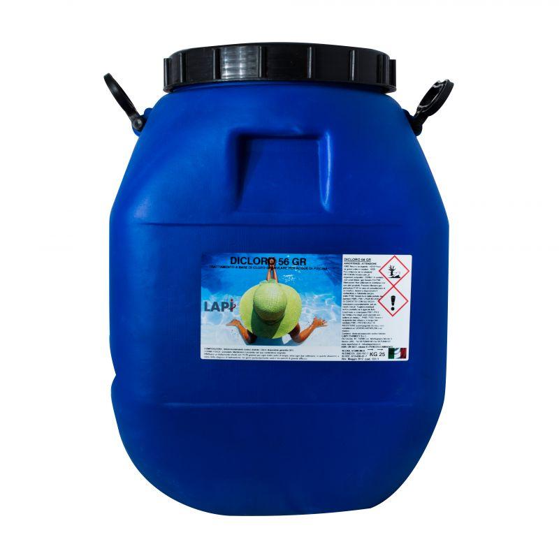 Dicloro 60 granulare per trattamento acqua piscina - Trattamento acqua piscina ...