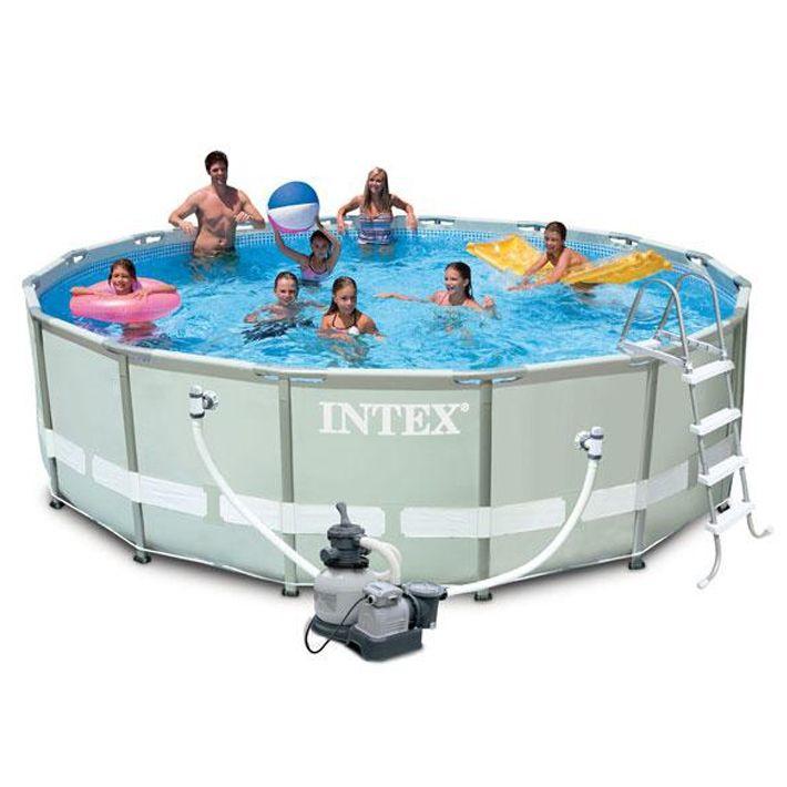 piscina intex ultra frame Ø 4,88 x h.1,22 m | bsvillage