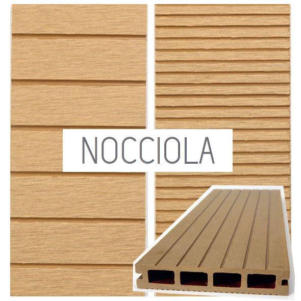 Listello decking wpc legno composito per rivestimenti for Opzioni di rivestimenti esterni in legno