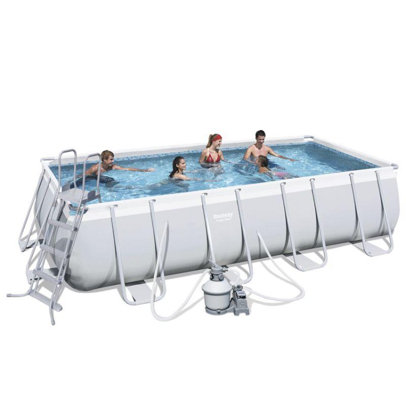 Piscina fuori terra bestway power steel frame - Filtro sabbia piscina bestway ...