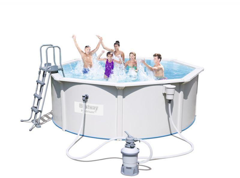 Piscina fuori terra bestway hydrium 3 60 x h 1 20 m - Filtro sabbia piscina bestway ...